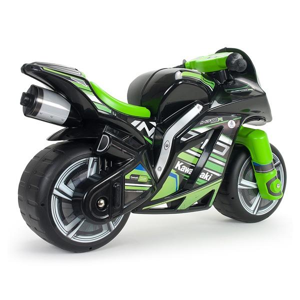 porteur moto winner kawasaki injusa king jouet porteurs. Black Bedroom Furniture Sets. Home Design Ideas