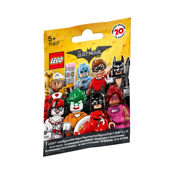 71017-Mini figurines Batman Movie