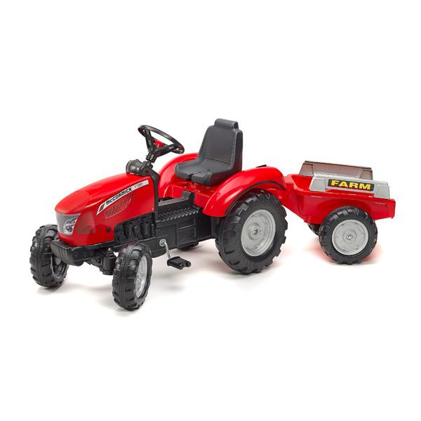 tracteur mc cormick avec remorque falk king jouet v hicules voitures p dales falk sport. Black Bedroom Furniture Sets. Home Design Ideas