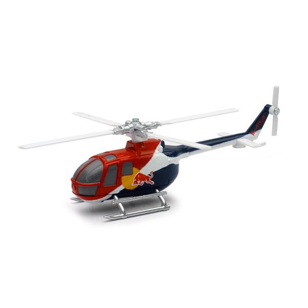 Hélicoptère Bo 105c Red Bull 1/100