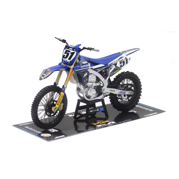 moto cross jgrmx yamaha yz450f new ray king jouet les autres v hicules new ray v hicules. Black Bedroom Furniture Sets. Home Design Ideas