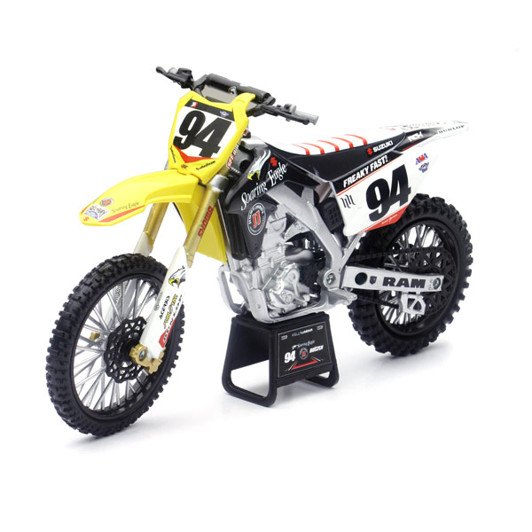 moto cross suzuki rmz new ray king jouet les autres v hicules new ray v hicules circuits. Black Bedroom Furniture Sets. Home Design Ideas