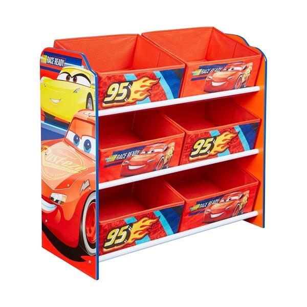 Rangement 6 bacs Cars