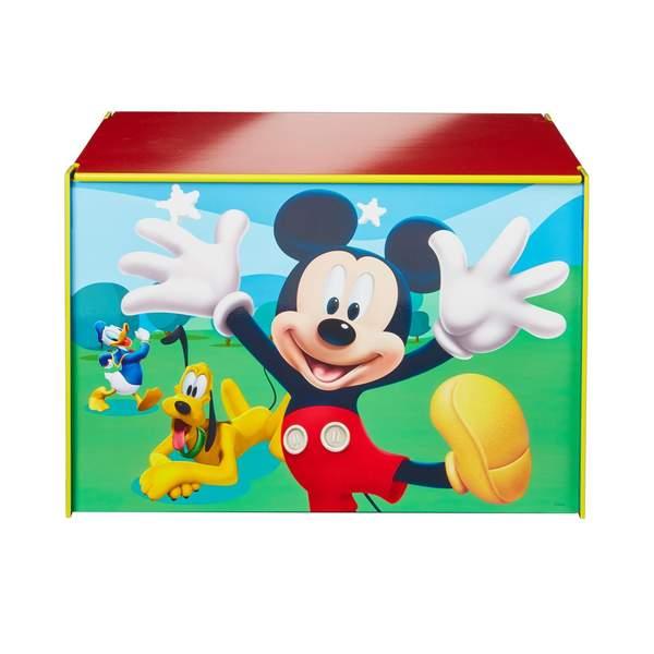 Coffre jouets mickey room studio king jouet - Coffre a jouet mickey ...
