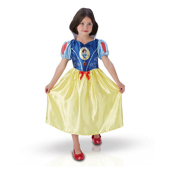 Disney-Déguisement classique Blanche-Neige 7/8 ans