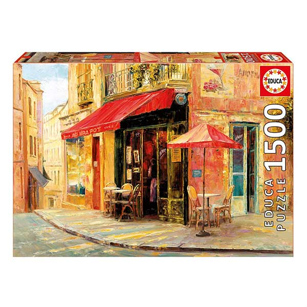 Puzzle 1500 pièces Hillside Café Haixia Liu