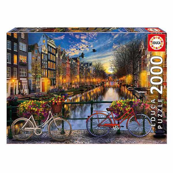 Puzzle 2000 pièces Amsterdam