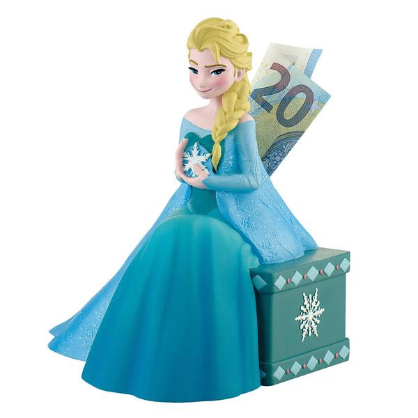 Tirelire Elsa Reine des Neiges