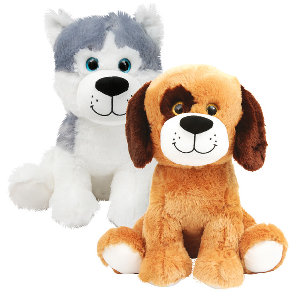 peluche chien assis 35 cm ami plush king jouet peluches. Black Bedroom Furniture Sets. Home Design Ideas