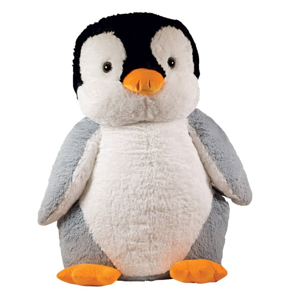 peluche pingouin 90 cm superstar king jouet peluches superstar poup es peluches. Black Bedroom Furniture Sets. Home Design Ideas