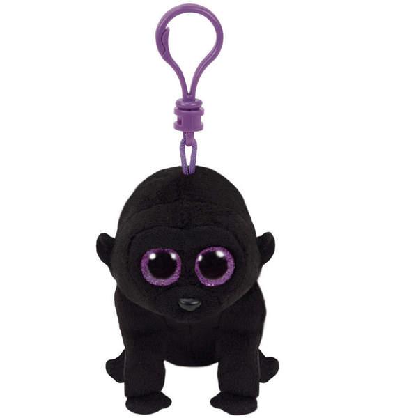 Beanie Boo's-Porte-clés peluche George le gorille