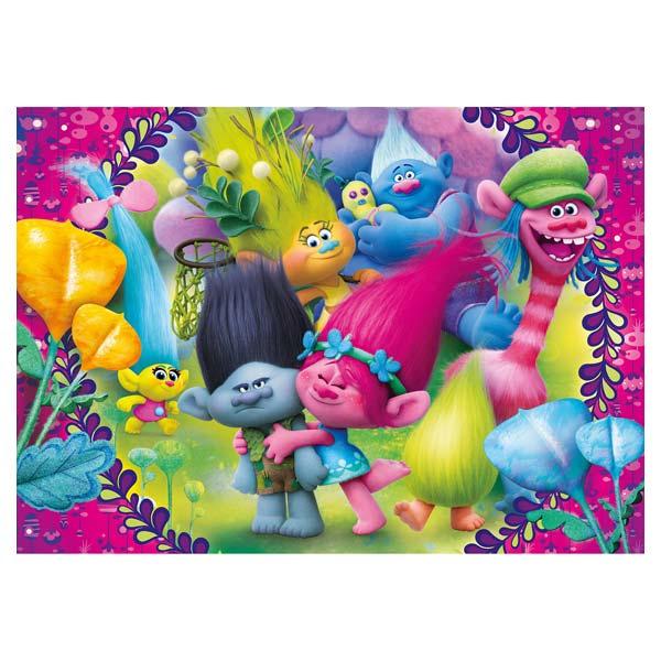 Puzzle 60 pièces Trolls