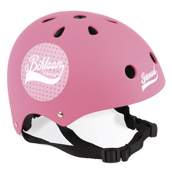Alliez sécurité et style avec ce casque rose pour draisienne Bikloon ! Votre enfant adore jouer en extérieur sur son vélo, sa draisienne ou son tricycle ? En complément de son jouet favori, le casque est un indispensable pour assurer sa protection lors d´