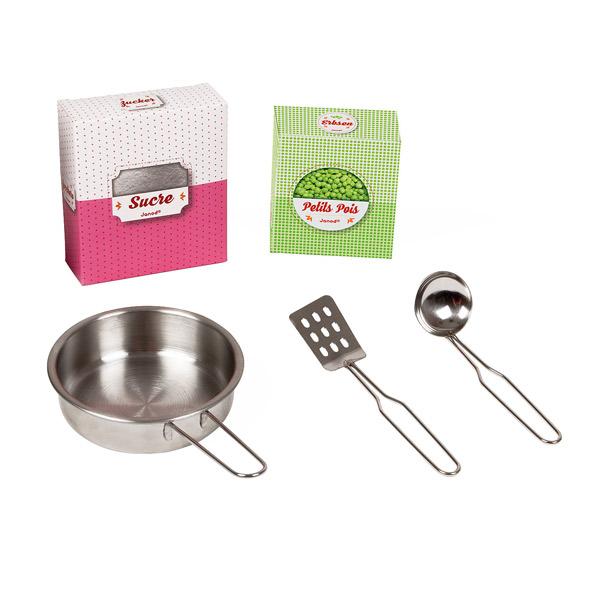Cuisine macaron en bois janod king jouet cuisine et dinette janod jeux d 39 imitation mondes for Cuisine janod macaron
