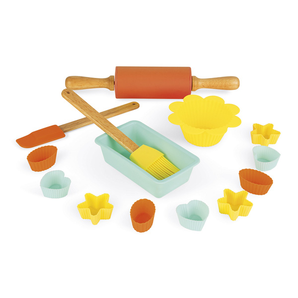 Set p tisserie 14 pi ces janod king jouet cuisine et for Cuisine king jouet