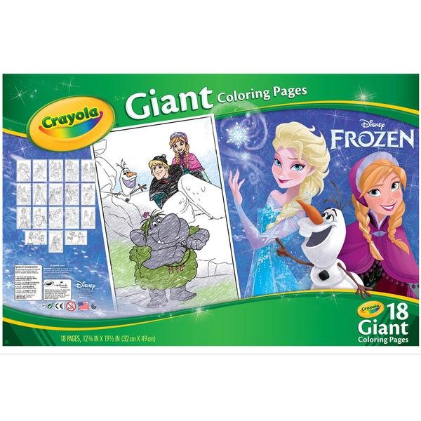 Livre à colorier Reine des Neiges