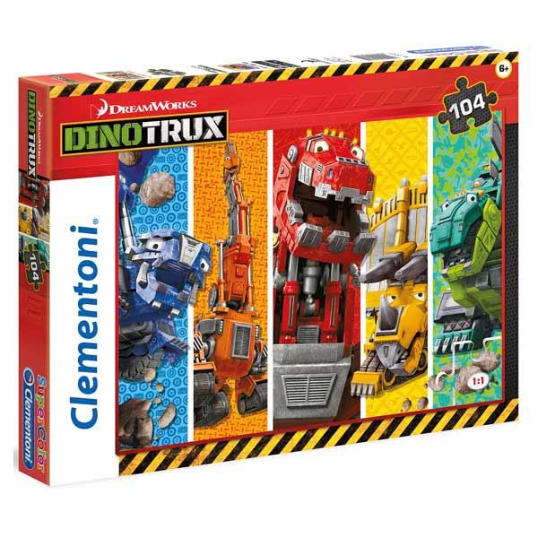 Puzzle 104 pièces Dinotrux