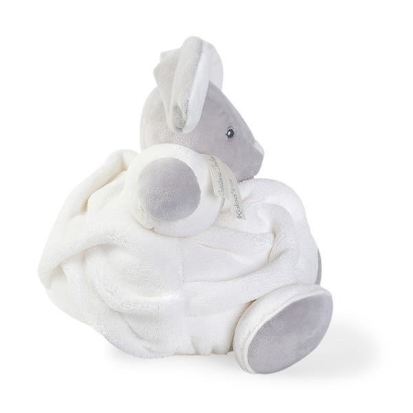 Doudou Plume lapinou crème 25 cm