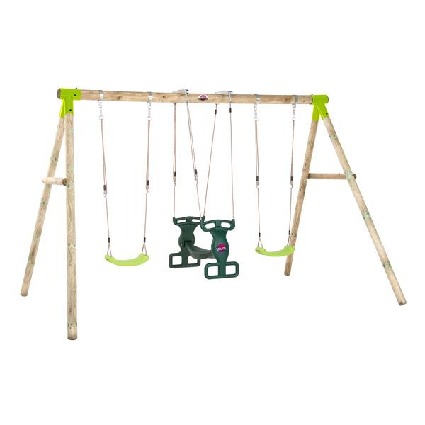 portique bois vervet plum king jouet portiques balan oires et toboggans plum sport et jeux. Black Bedroom Furniture Sets. Home Design Ideas
