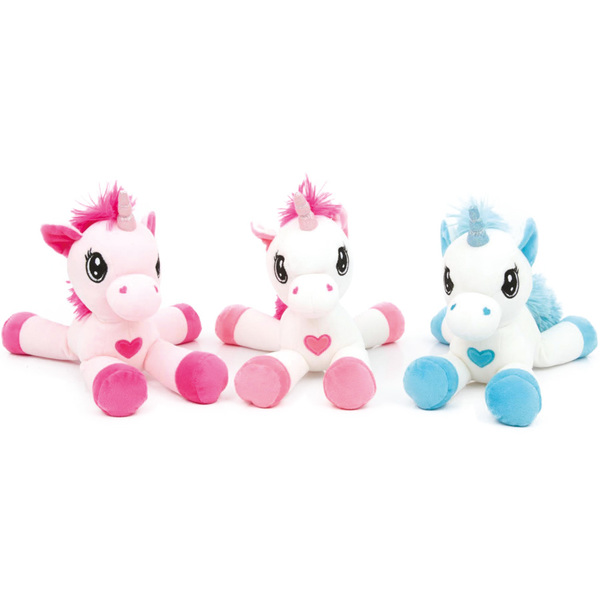 peluche licorne 32 cm ami plush king jouet peluches ami plush poup es peluches. Black Bedroom Furniture Sets. Home Design Ideas