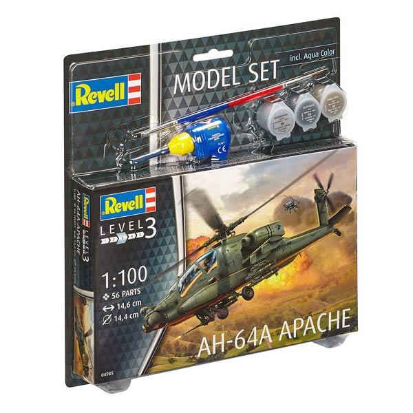 Maquette Hélicoptère Apache AH-64A