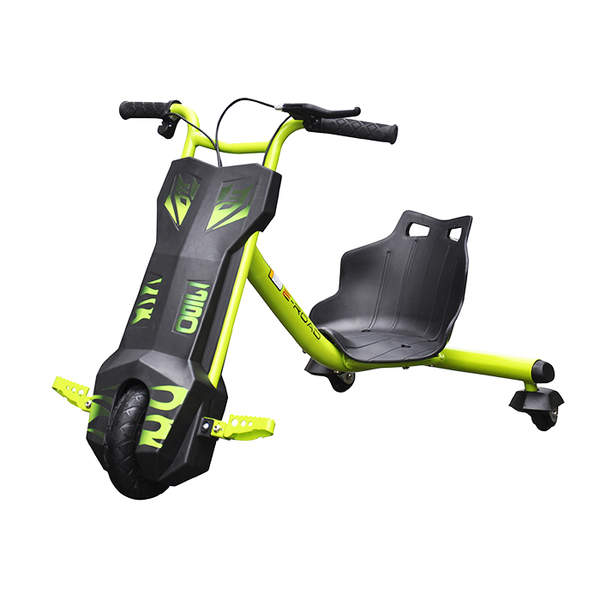drift trike tricycle lectrique vert bike spa e road. Black Bedroom Furniture Sets. Home Design Ideas