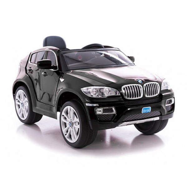 voiture lectrique bmw x6 noire 12v bike spa e road king. Black Bedroom Furniture Sets. Home Design Ideas