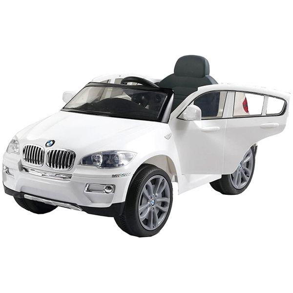 voiture lectrique bmw x6 blanche 12v bike spa e road. Black Bedroom Furniture Sets. Home Design Ideas