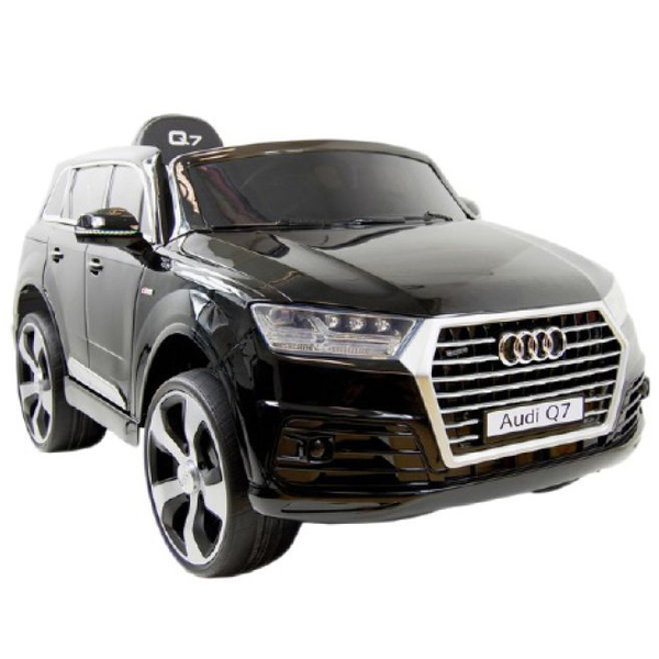 voiture lectrique audi q7 12v noire bike spa e road. Black Bedroom Furniture Sets. Home Design Ideas