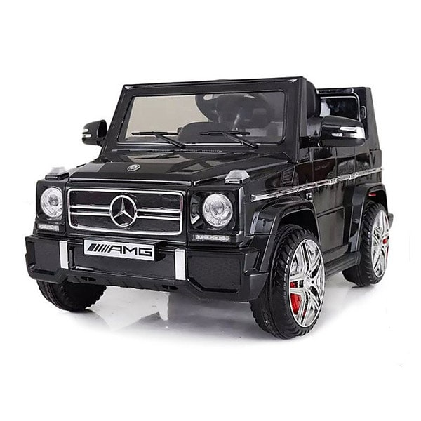 voiture lectrique mercedes g65 12v noire bike spa e road king jouet v hicules lectriques. Black Bedroom Furniture Sets. Home Design Ideas