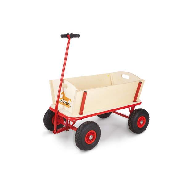 chariot en bois maxi pinolino king jouet maisons. Black Bedroom Furniture Sets. Home Design Ideas