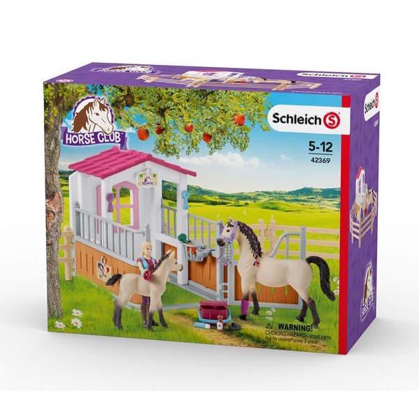 Horse Club - Box avec chevaux arabes et soigneuse