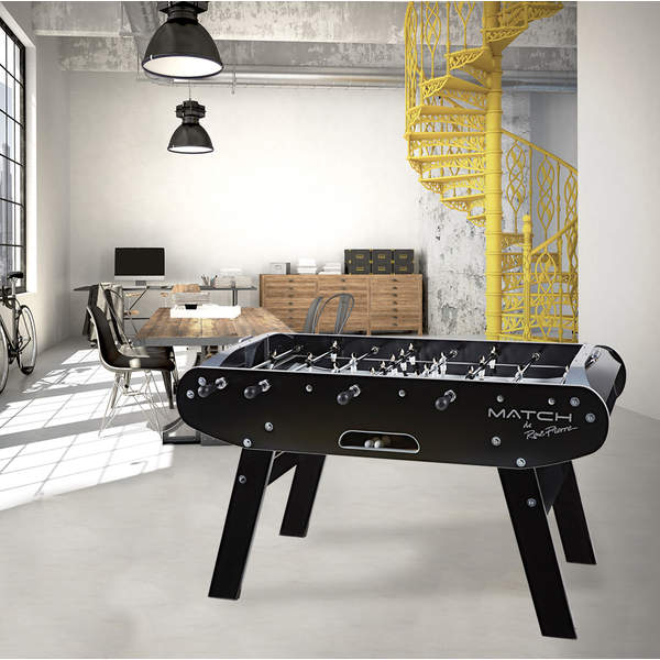 baby foot match noir ii rene pierre king jouet babyfoot billard rene pierre sport et jeux. Black Bedroom Furniture Sets. Home Design Ideas