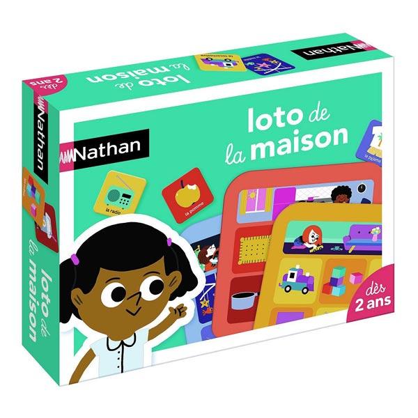 Loto de la maison Nathan Jeux   King Jouet, Jeux de hasard et ... a08c2e4bb8da