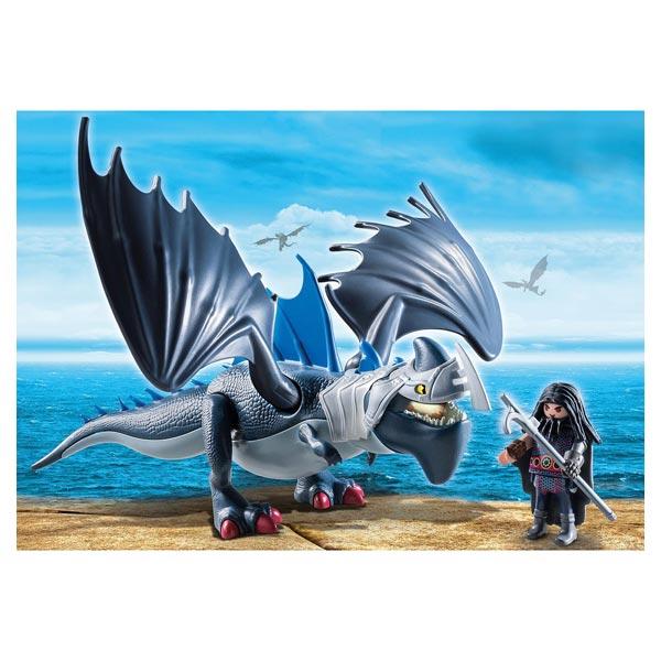 9248 - Dragons Drago et son dragon de combat - Playmobil Dragons