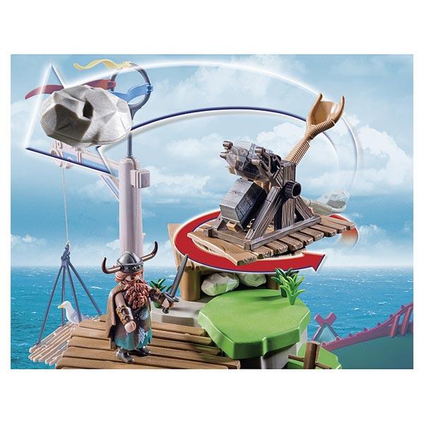 De Playmobil Campement Dragons L'île Beurk 9243 Nnv80mOw
