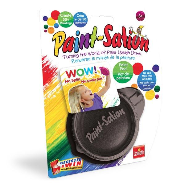 Paint-Sation-Pot de peinture noir