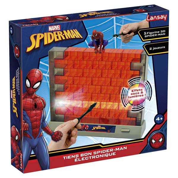spider man tiens bon lectronique lansay king jouet jeux d 39 action lansay jeux de soci t. Black Bedroom Furniture Sets. Home Design Ideas