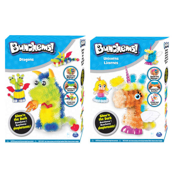 Bunchems-Coffret dragons ou licornes