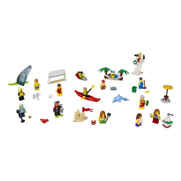 60153 - LEGO® CITY - Ensemble de figurines la plage