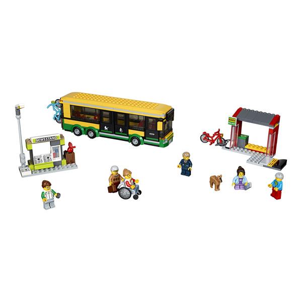 60154 lego city la gare routi re lego king jouet lego briques et blocs lego jeux de. Black Bedroom Furniture Sets. Home Design Ideas