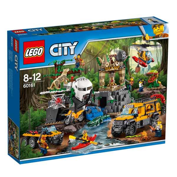 60161 Lego® Le D'exploration City Site Jungle De La Yf67gyb