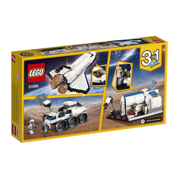 Navette Construction Spatiale La 31066 Lego Jeu Creator De Cxdrboe thQsrCdx