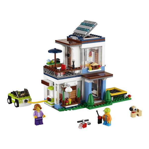 Modernes Lego Wohnzimmer 2018: La Maison Moderne LEGO : King