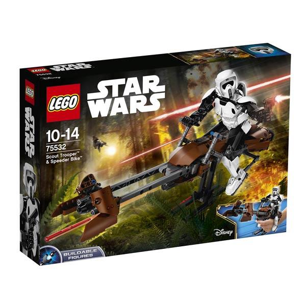 75532 - LEGO® STAR WARS - Scout Trooper et Speeder Bike