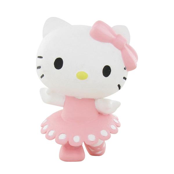 figurine hello kitty danse 6 cm comansi king jouet figurines et cartes collectionner. Black Bedroom Furniture Sets. Home Design Ideas