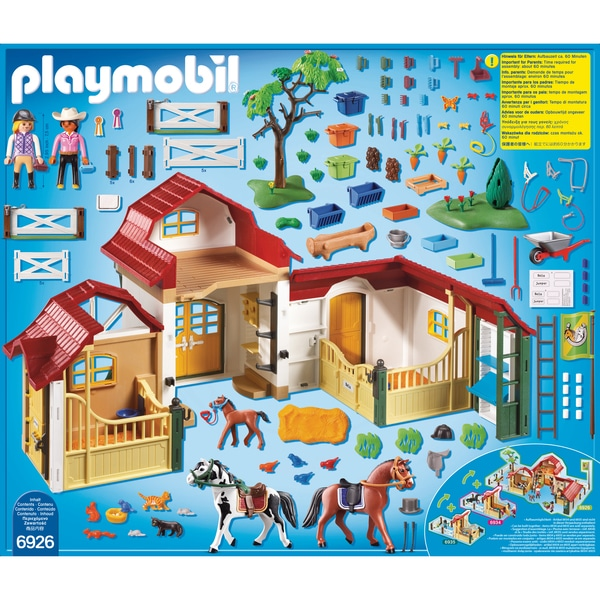 6926 club d 39 quitation playmobil playmobil king jouet playmobil playmobil jeux d 39 imitation. Black Bedroom Furniture Sets. Home Design Ideas