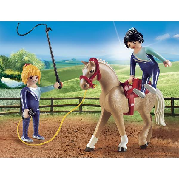 6933-Voltigeuses et cheval Playmobil Country