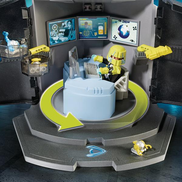 9250 - Playmobil Top Agents Centre de commandement du Dr. Drones