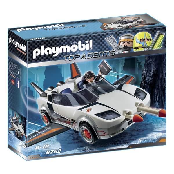 9252 voiture de l 39 agent pilote playmobil playmobil king jouet playmobil playmobil jeux d. Black Bedroom Furniture Sets. Home Design Ideas